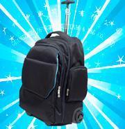电脑拉杆背包