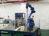 LED鋁合金燈框連續鐳射擺動焊接 機械手鐳射焊接機