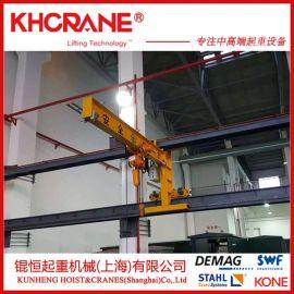 销售悬臂吊 单梁臂吊 360度摇臂吊 1T立柱式悬臂起重机