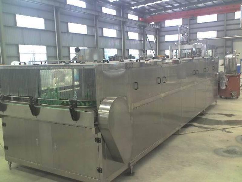 供应JN型厂家直销茶饮料生产设备/喷淋冷却机/温瓶机/饮料机械
