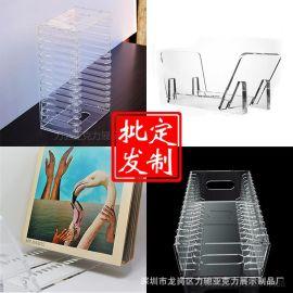 定制CD架 亚克力CD收纳盒 亚克力CD光盘收纳架 透明展示架批发