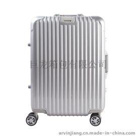 巨龙箱包PC140铝框拉杆箱 22寸