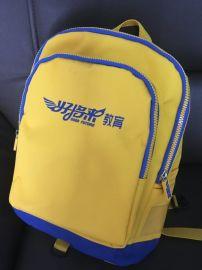 供应培训机构定制书包中小学生书包双肩背包