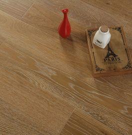 木地板 多层实木复合地板 环保家装地暖专用地板 拉丝橡木