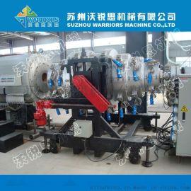 大口径PE供水管材设备 PE管材生产线厂家
