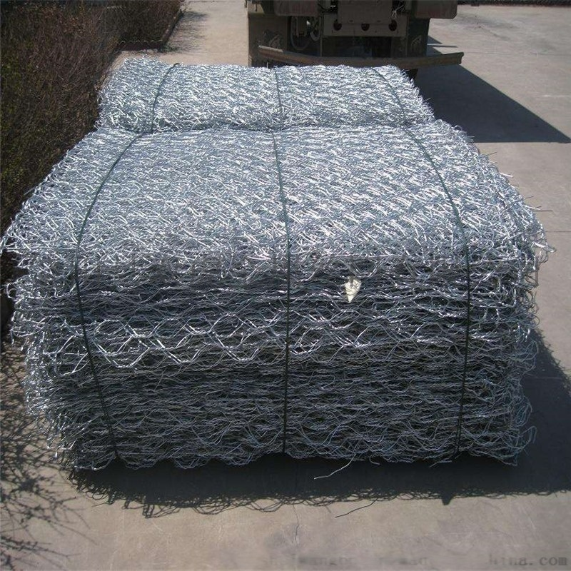 银川铝锌石笼网高尔凡格宾网箱生态绿格网