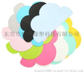 硅胶云朵儿童餐垫 防滑防烫硅胶餐垫 食品级硅胶餐垫