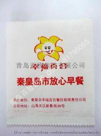 日照大厂家生产煎饼果子防油纸袋 肉火烧牛皮纸袋