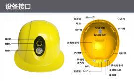 高清4G无线传输一体化头盔