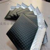 黑色導電膜復合氣泡袋防靜電氣泡袋黑色共擠膜快遞袋