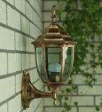 寧夏戶外燈歐式壁燈現代簡約室外防水庭院燈具 復古景觀燈led燈飾極光