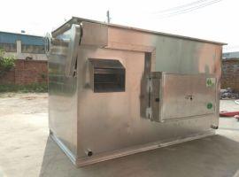 承德不锈钢隔油池   餐饮食堂环保油水分离器