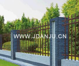围墙护栏DK002锻压栅栏