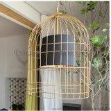 鐵藝鳥籠燈吊燈中式仿古現代落地燈酒店茶樓餐廳燈具鳥籠燈MS-P6040
