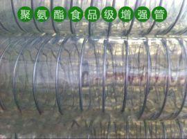 PU食品级钢丝管 内壁平滑管 不含塑化剂食品级软管,TPU聚醚型塑料管
