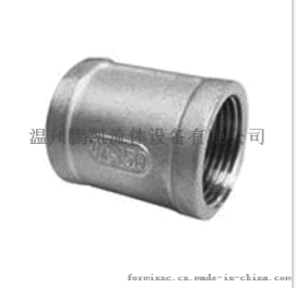 不锈钢201/304/316双头内丝,内丝直接,精铸双头内丝