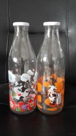 酸奶瓶,烤花瓶,酸奶瓶销售批发