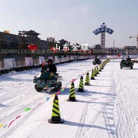 大动力速度快的雪地摩托车冰雪设备