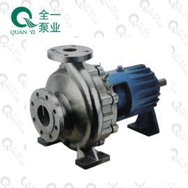 IHG耐腐蚀污水泵 过流部件不锈钢 乳化液废水处理用