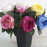 仿真花 短枝玫瑰仿真花
