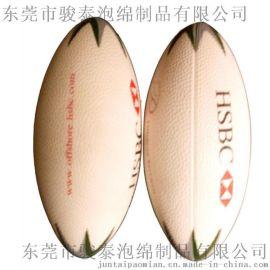 PU发泡厂定制 聚氨酯玩具橄榄球 PU小棒球 笑脸球