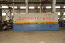 供应 全新中航QC12Y液压摆式剪板机 钢结构建筑金属剪板机