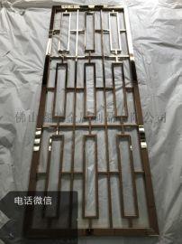 江苏玫瑰金不锈钢焊接屏风满焊效果有欧式仿古气势派头