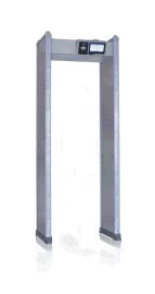广东兵工供应十八区金属安检门、加防雨罩室外探测门