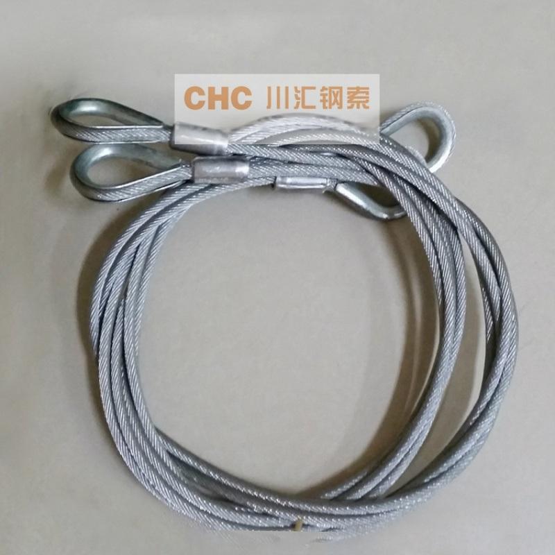 梳棉机耐磨耐疲劳钢丝绳,纺机钢丝绳