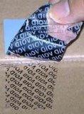 厂家供应揭开留字(VOID)材料,揭开留字VOID标签