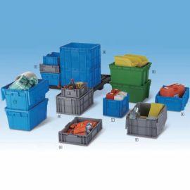 加厚塑料周转箱物流箱长方形过滤周转筐塑胶工具箱子有盖箱储物箱
