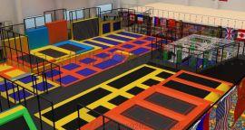 室内外超级蹦床儿童反弹乐园**弹跳区 儿童淘气堡