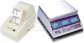聯貿UCA不幹膠電子秤 自動計數功能打印秤 高精度的不幹膠打印秤