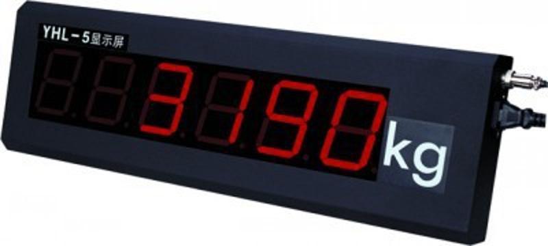 上海耀华YHL-5寸显示屏,显示屏3寸5寸8寸大屏幕,LED显示屏价格