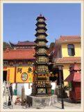 正圆大型铸铁千佛塔厂家,寺庙铜五层七层千佛塔制造厂