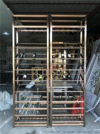 北京304不锈钢红酒架展示架定制