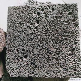 厂供应火山石板材 机切规格板 天然园林景观石