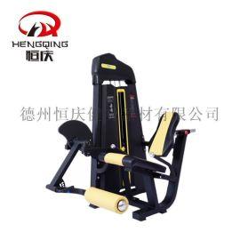 商用室内 坐式伸腿健身器材 健身房运动力量健身器械
