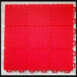 天水市弹性垫拼装地板 甘肃气垫悬浮地板厂家
