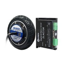 中菱8寸单轴机器人轮毂伺服电机 24V~48V AGV小车底盘轮毂电机驱动器