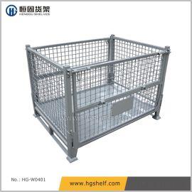 折疊式金屬網籠箱