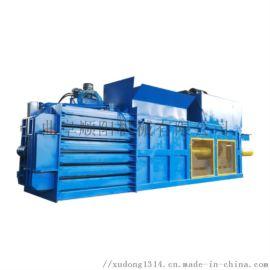 半自动卧式液压废纸打包机 小型半自动压缩打包机定制