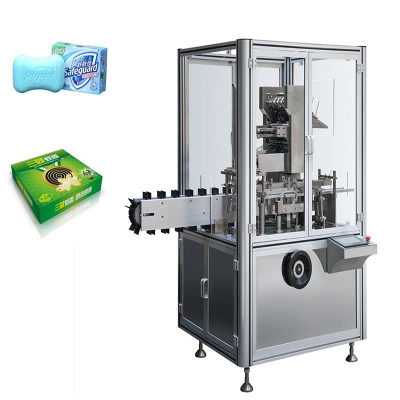 洗衣片装盒机 香皂装盒机 色母片装盒机