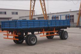 10吨农用自卸拖车,双轴拖车转盘转向