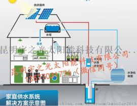 药材基地全不锈钢立式潜水泵 太阳能抽水机 光伏水泵