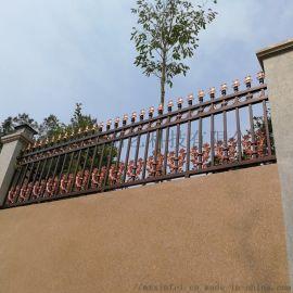 锌钢阳台护栏,铁艺大门工厂