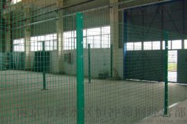 框架铁路公路护栏网 浸塑防护我厂家直销圈地铁丝围墙钢丝网