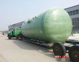 玻璃钢消防水罐 地埋玻璃钢水罐 消防水池生产厂家