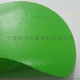 0.68mm防撕裂耐磨pvc涂层夹网布、阻燃刀刮布