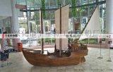 展示道具船 室内小型海盗船装饰船 精品木船
